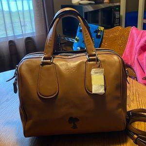 Coach X Snoopy Large Surrey Handbag